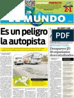 Portada El Mundo de Orizaba, 5 de julio de 2011