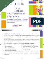 Folleto Acceso a la Justicia Laboral de las personas migrantes