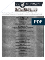 West Gamer Ultimate 40k Scenarios