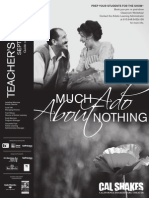 Much Ado About Nothing Teachers Guide - California Shakespeare Theater 2010