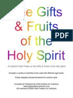 Gifts & Fruits of the Holy Spirit Faith Folder