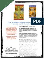 Book Study Flyer