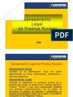 Cofopri to Legal de Predios Rurales