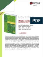 Métodos cuantitativos 3a. Ed