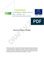 Internet Governance Principles