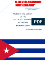 Historia de Giron - Bahia de Cochinos