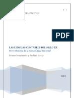 Las Lenguas Contables Del Siglo XX