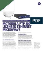 PTP 800 - transmisor