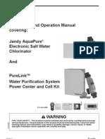 AquaPure Manual H0325600