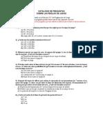 Catalogo Preguntas IHF