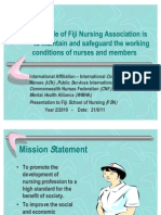 The Role of Fiji Nursing Association