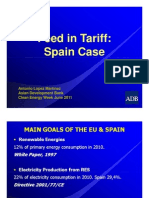 Antonio Lopez Martinez-Feed in Tariff Spain Case