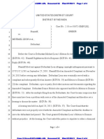 Ordered to Pay Attorney's Fees (Righthaven v. Michael Leon)