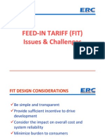 Francis Saturnino Juan - Feed-In Tariff (FIT) Issues & Challenges