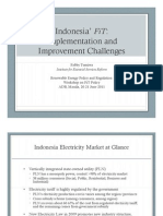 Fabby Tumiwa - Indonesia FiT Implementation and Improvement Challenges