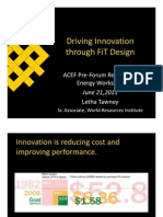 Letha Tawney - Driving Innovation Through FiT Design