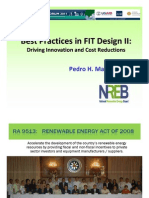 Pedro H. Maniego, Jr. - Best Practices in FIT Design II