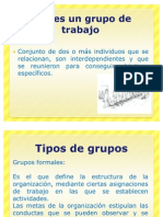 Tipos de grupos