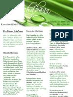 Ramadan Newsletter Nr. 1 - Der Monat Scha'Baan EV