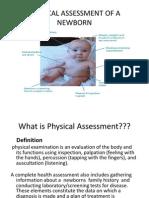 Physical Assessment of a Newborn