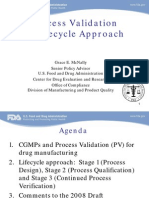 Process Validation FDA