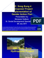 Song Bung 4 Hydropower Project Implementation of Gender Action Plan