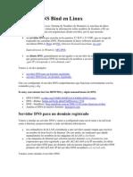 Servidor DNS Bind en Linux
