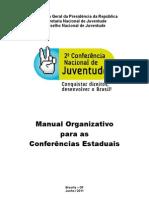 Manual Organizativo das Etapas Estaduais