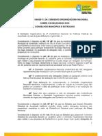 Resolução 04 CON - Delegados Conselhos