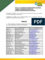Resolução 06 CON - Indicação Representantes COEs