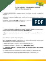Resolução 07 CON - Prazo Municipais