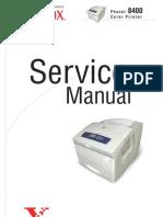 Xerox 8400 Service Manual