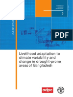 Adaptation_FAO Livelihood Adaptation Bangloadesh