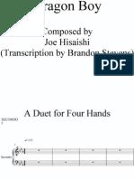 Dragon Boy - Four Hands