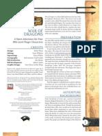 D20 - D&D - Adventure - War of Dragons