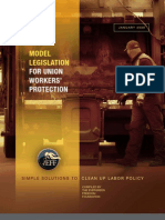 ALEC Model Legislation for Union Workers Protection