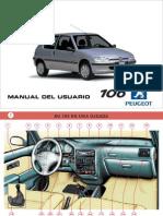 Manual de Usuario Peugeot 106