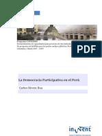 Democracia Participativa en El Peru. Carlos Rivera Rua
