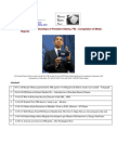 11-07-06 Convoluted Relationships of President Obama, FBI – Compilation of Media Reports