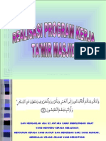 Realisasi Program Kerja Takmir Masjid