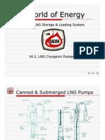 34B - LNG Cryogenic Pumps