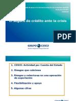 Presentación del Seguro de Crédito CESCE