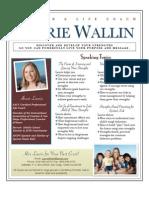 Laurie Wallin Strengths One Sheet
