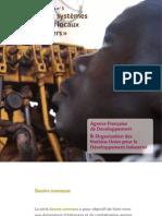 Savoirs communs n°5 - Appui aux systèmes productifs locaux ou «clusters» (AFD - 2009)