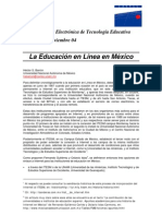 Historia de la Educación a Distancia en México
