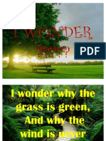 i Wonder Poem