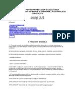 C 112-86 Hidroizolatii bituminoase