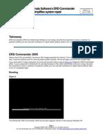 ERD Commander-2005 Simplifies System Repair