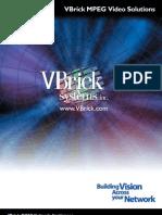 Videoconferencing Vbrick Overview