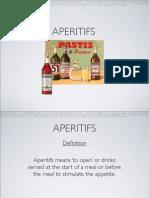 Aperitifs - Presentation